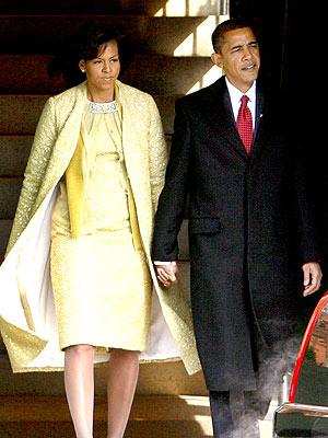 Obamas Inauguration Day