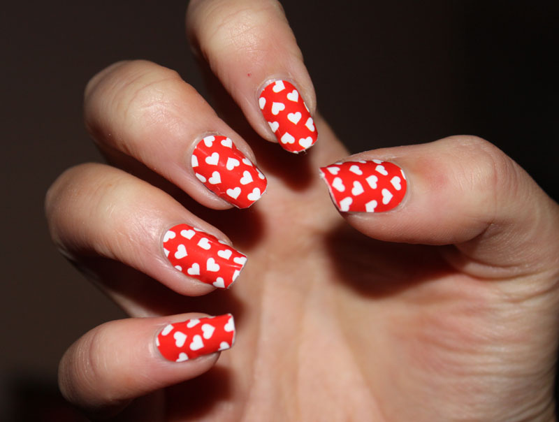 myleene klass heart nail wraps